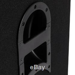 15 Inch Active Powered PA Speakers 500w RMS 4000 Peak System With Bluetooth PAIR