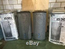 1 Pair Mackie SA1350Z Powered Speakers