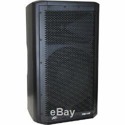 (2) Peavey DM 112 Dark Matter Pro Audio DJ 650W Powered 12 PA Speaker Pair New