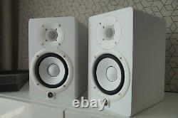 2 X Yamaha Hs5 Powered Studio Monitor White pair