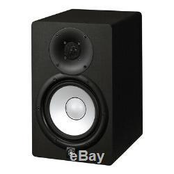2 x Yamaha HS7 Powered Studio Monitor Speakers (Black), PAIR