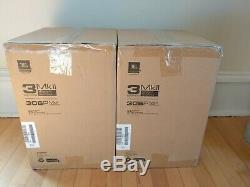 2x(1 pair) JBL 306P MkII Active Speaker Pair Powered Studio Monitors