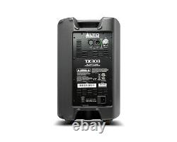 2x Alto TX308 Active Powered 8 350W PA Speaker Mobile Disco DJ Loudspeaker Pair