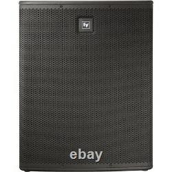 2x Electro-Voice ELX118P 1400W Active PA Subwoofers 118P Disco DJ EV Subs PAIR