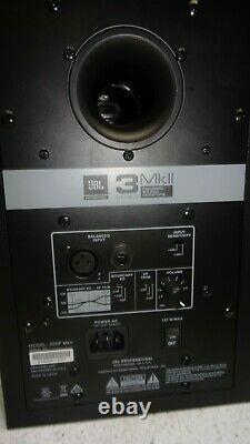 2x JBL 305P MkII Active Speaker Pair Powered Studio Monitor USED