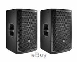 2x JBL PRX812W Active Loudspeaker Powered Monitor Speaker Pair NEW x2 PRX812 W