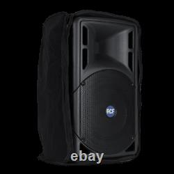 2x PAIR RCF ART 315-A 800W Active Two-Way Powered 15 PA Speaker DJ Band With Case