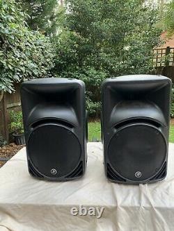 2x Pair Mackie SRM450v2 Powered Active Speakers
