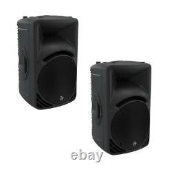 2x SRM450v3 Powered Speakers 12 HD (PAIR) SRM450V32 Mackiemackie srm450 sr