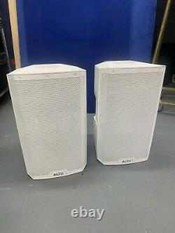 ALTO TS212 WHITE 12 Active Powered 1100W PA Speakers Stage Club PAIR