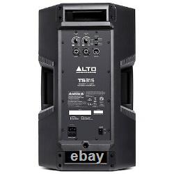ALTO TS315 Active Powered PA DJ Speakers Pair 2000 watts