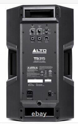 ALTO TS315 Pair Powered speakers 2000 watt each