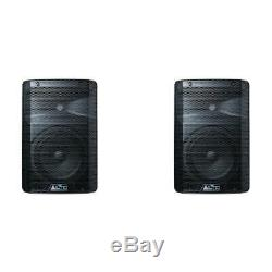 ALTO TX208 Active Powered PA DJ Speakers PAIR Light and Compact