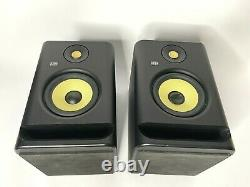 A Pair of Pre-owned KRK Rokit 5 Powered Studio Monitor Black (Pair) no cables