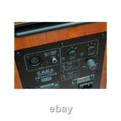 Acoustic Energy AE1 Active Speakers Cherry Wood Pair Powered Loudspeakers