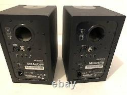 Alesis M1 Active 520 Powered Studio Monitor Speakers Pair (Black and Silver)