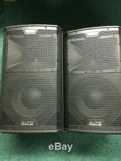 Alto Professional Black 10 (Pair)- Premium Pro grade portable powered PA system