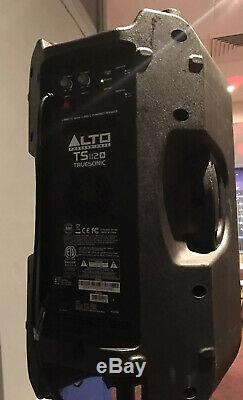 Alto TS112A Truesonic Powered Speakers (a Pair) PA System Good Working Order