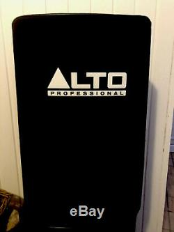 Alto TS215 15 Powered Active 1100w A Pair Of DJ PA Speakers 2 Channel Mixer