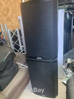 Alto TS215 15 Powered Active 1100w DJ PA Speaker 2 Channel (PAIR)