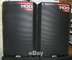 Alto TS215 15 Powered Active 1100w DJ PA Speakers Pair