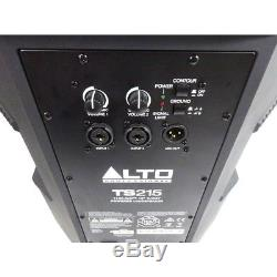 Alto TS215 Active Powered 15 DJ Disco PA Speaker (Pair) inc Warranty