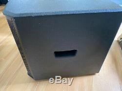 Alto TS312S 12 pair of Subwoofers 2000W Active Powered DJ Mobile Disco Live PA