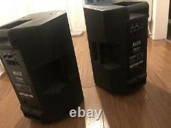 Alto TS312 2000W Active Powered Speakers (PAIR) Very Good Condition