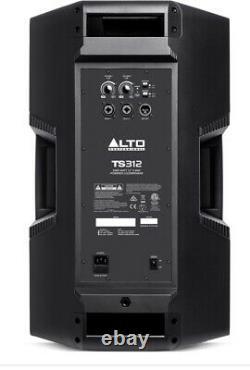 Alto TS312 2000 Watt Speakers PAIR 12 Inch Powered (Smaller version of TS315)