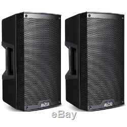 Alto TS312 4000W 2-Way 12 Active Powered DJ Disco PA Speakers TS 312 PAIR