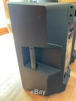 Alto ts212 powered speakers (pair) excellent condition with stands & covers
