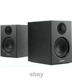 Audio Pro Addon T14 Active Speakers Bluetooth AptX Powered Compact Black Pair