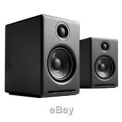 Audioengine A2+ Premium Powered Active Speakers (PAIR) Black NEW