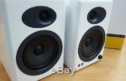 Audioengine A5+ Premium Active Powered Speakers (Pair) Gloss White OPEN-BOX#