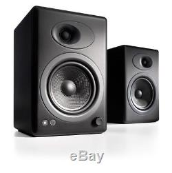 Audioengine A5+ Premium Powered Active Speakers (PAIR) Satin Black NEW