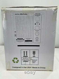 Avantone Pro Active MixCubes 5.25 inch Powered Studio Monitor Pair Gloss Black