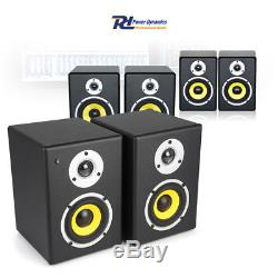 CHOICE Pair Active Powered Home DJ Studio Monitors Speakers 4 5 6.5 120-200W