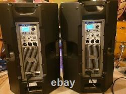 DAS Altea 715a Active Live PA Powered Speakers Pair gigs DJ 15 party Bi-Amped