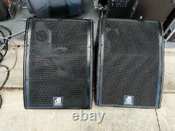 DB technologies M12-4 Plus 12 Powered/Active Wedge Monitors Pair