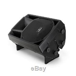 DJ Speakers PA Active Monitor Pair 2x ABS Housing Powered 12 Inch 2-Way 1100W