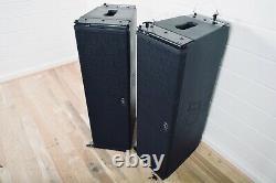 D. A. S. CA-28A PAIR Powered 2-Way Line Array in very good condition(church owned)