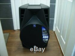 Db technologies opera 512dx powered speakers pair with citronic speaker bags