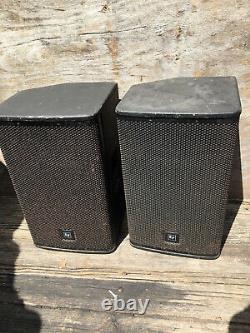 EV Electro-Voice ELX112p 12 Active Speaker Powered Monitor Pair Set of 2