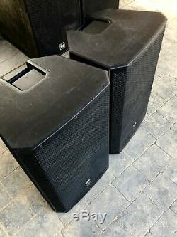EV Electro-Voice ZLX15P Active 1000 Watt Powered PA Speaker Pair