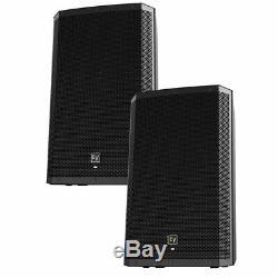 EV Electro-Voice ZLX-15P Bluetooth 15 2-Way 1000W Powered Speaker PAIR
