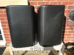 EV ZLX12P Powered Speakers Pair