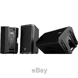 EV ZLX-15P PAIR Two-Way Full-Range Powered Speaker ZLX 15P Active PA System NEW
