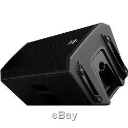 Electro-Voice EV ZLX15P 15 1000W Active Powered PA Speaker Pair + XLR Cables