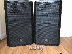 Electro-Voice ZLX15P 15 1000W Active Powered Stage PA Speaker (Pair)
