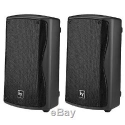 Electrovoice ZXA1-90B 8 Two-Way Active Powered 800W DJ PA Speaker (Pair)